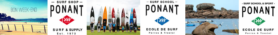 Ponant Surf Shop / Ponant Surf School