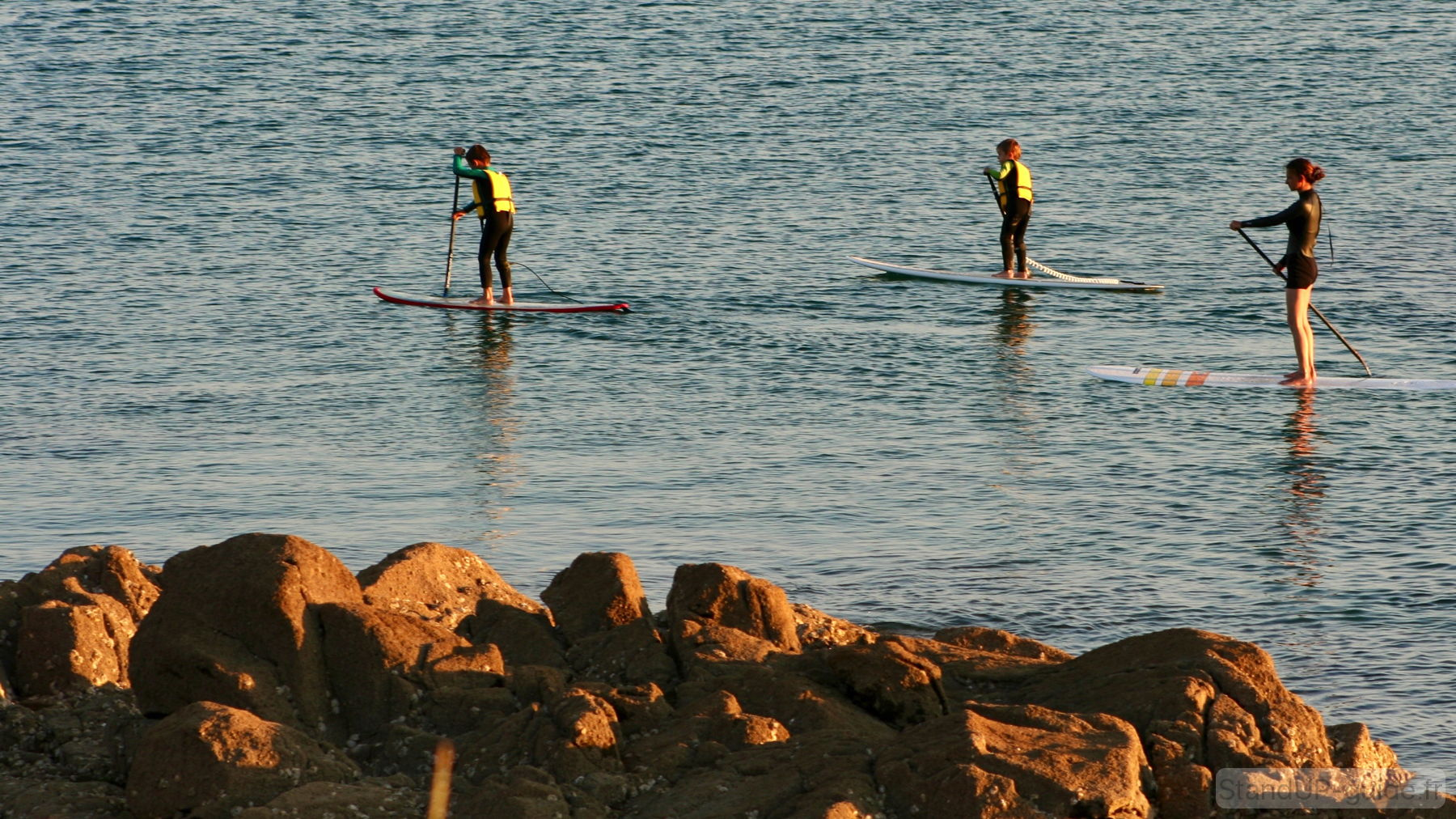 Qui veut faire du stand up paddle