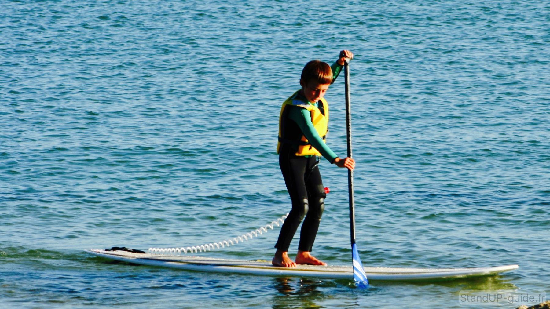 stand up paddle pour enfant