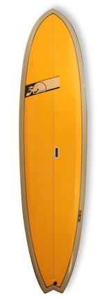 hobie cm ultimate 7'11 outline
