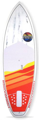 redwood-paddle source pro 8'3 outline