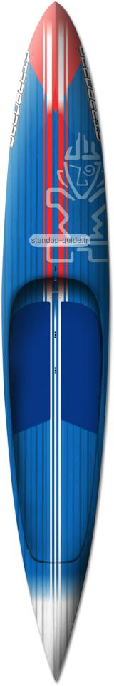 starboard ace 12'6 outline