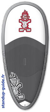 starboard squirt 6'6 outline