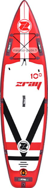 zray fury 10'0 outline